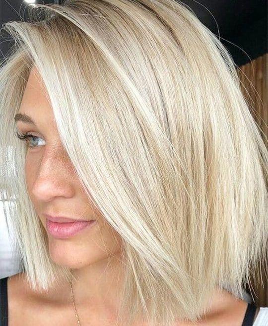 Pomysły na krótkie blond włosy