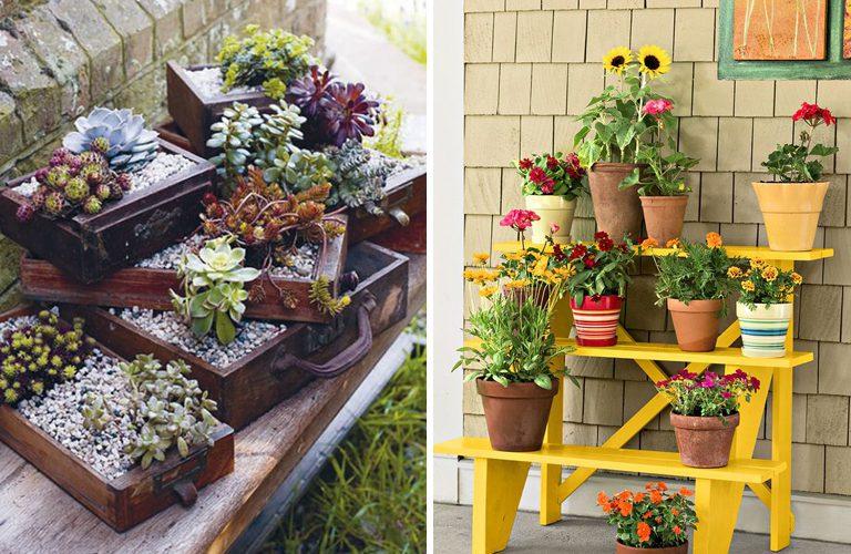 Kwietniki Ogrodowe DIY - TOP 12 inspiracji