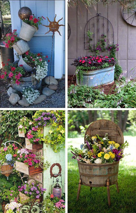 Kwietniki ogrodowe DIY